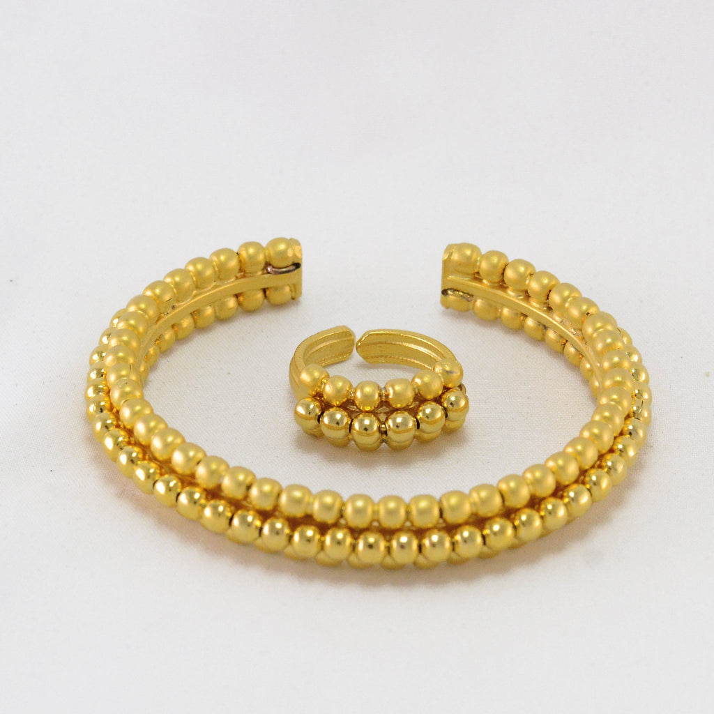 Golden Karrah & Ring