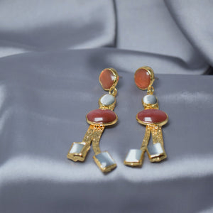 Regal Stone Earrings