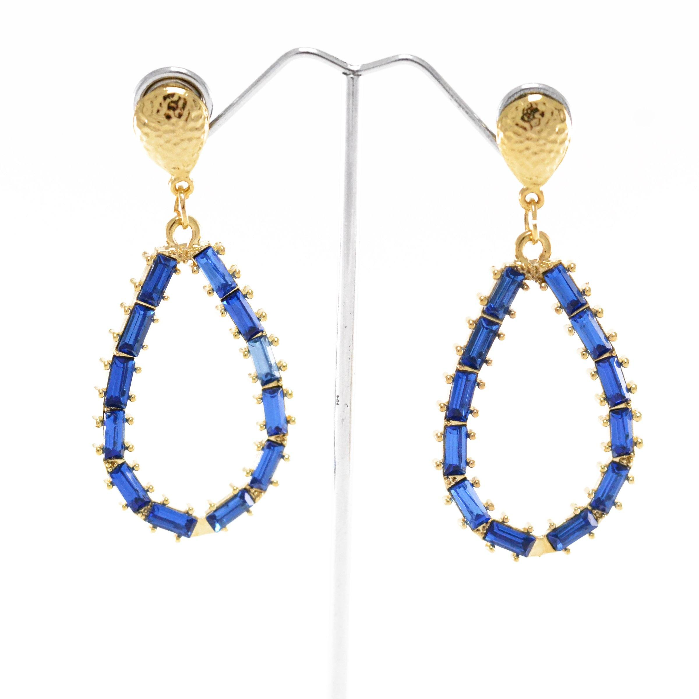 Beaded Tears Earrings