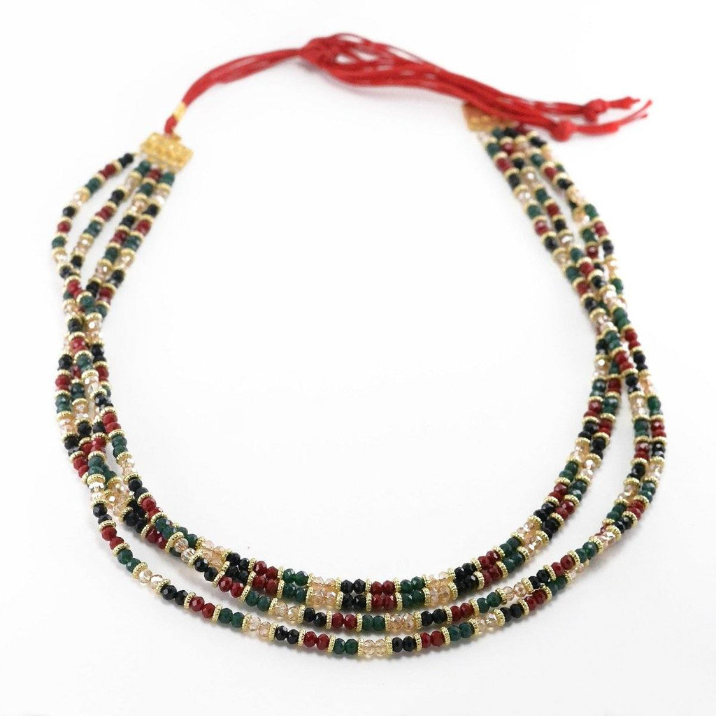 Red Boa Necklace
