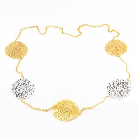 2 Tone Mesh Necklace