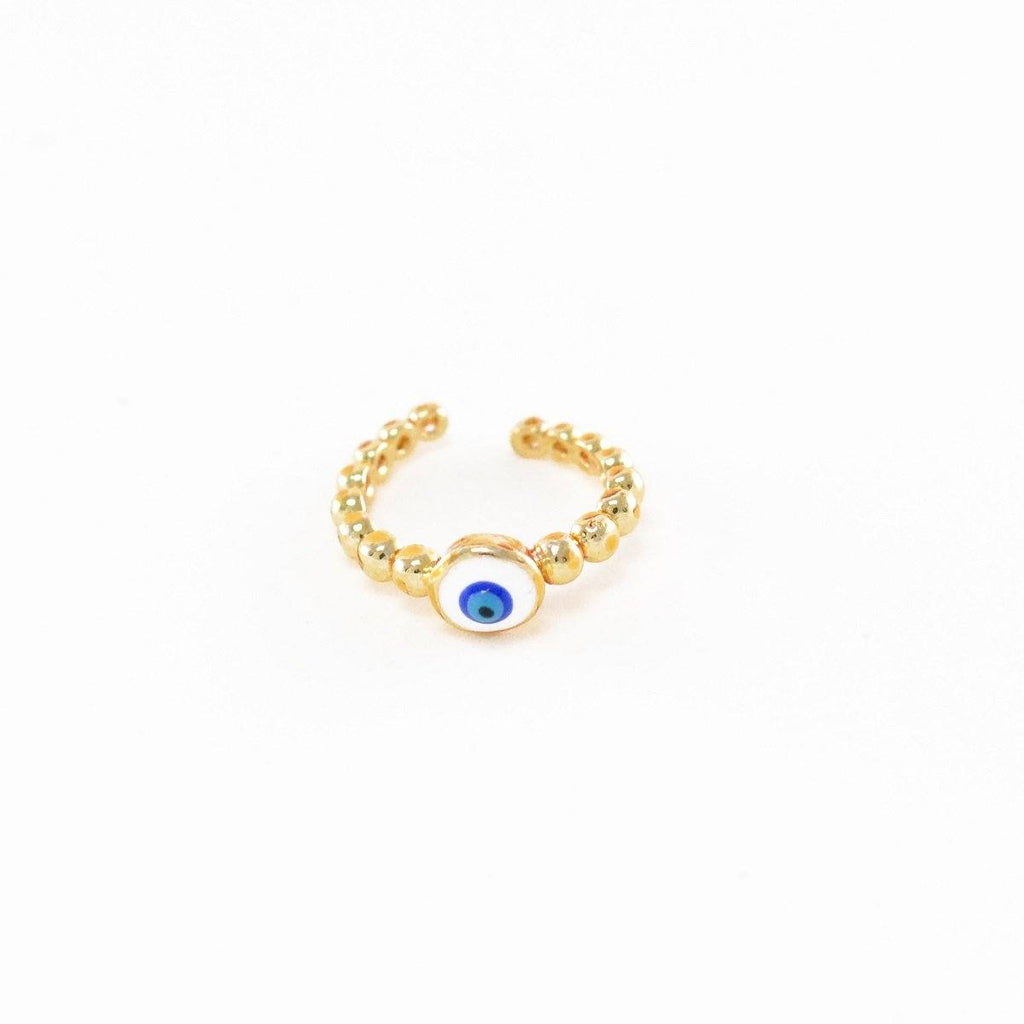 Trendy Evil Eye Ring