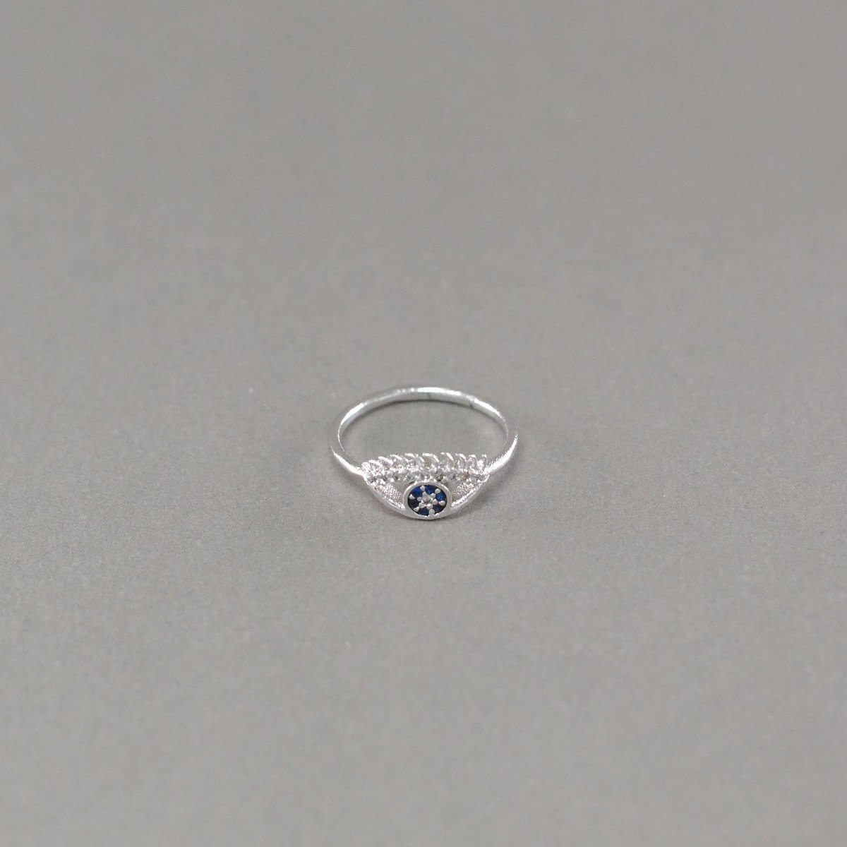 Evil Eye Zircon Ring