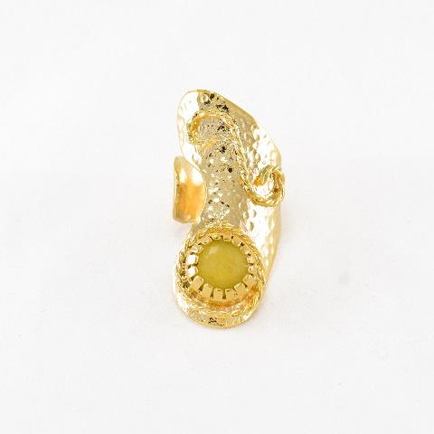 Full Finger Stone Ring