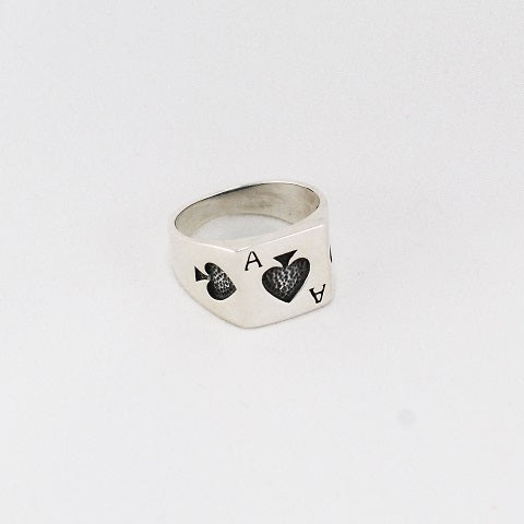 Ace of Clubs Ring