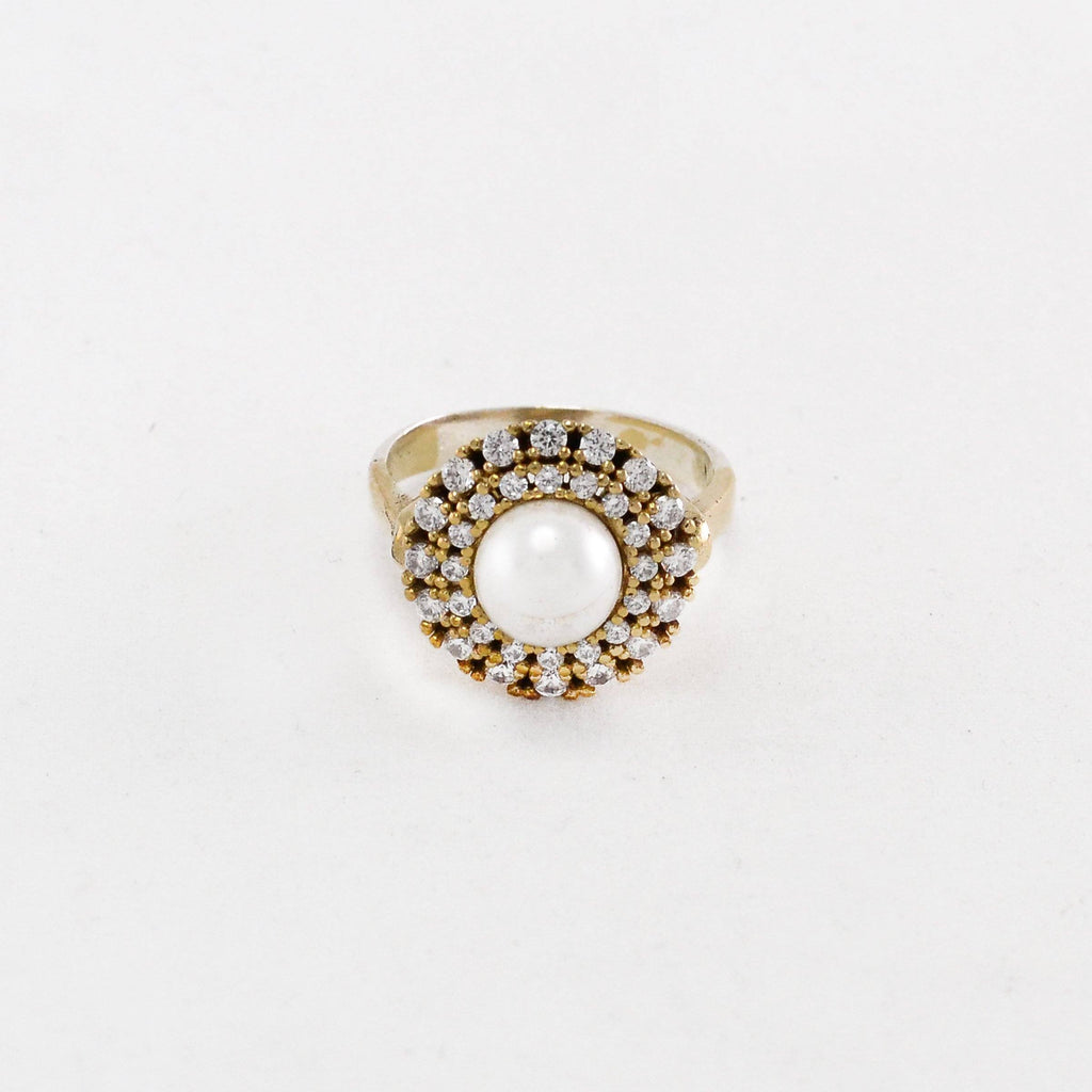 925 Silver Pearl Ring