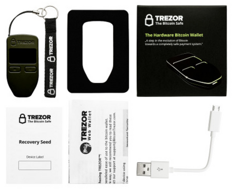TREZOR digiwallets