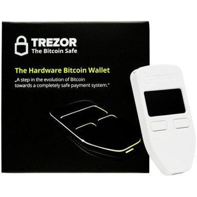 TREZOR White - digiwallets