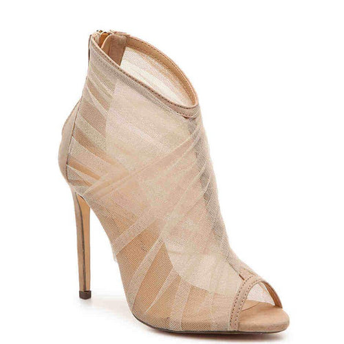 Nude Skylar Bootie by Penny Loves Kenny in Sizes 11, 12, and 13