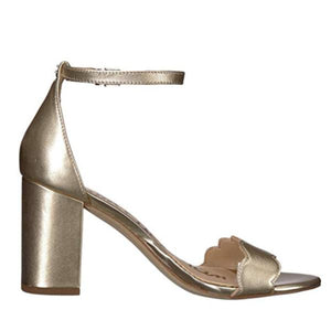 Gold Sam Edelman Ankle Strap Sandals Right