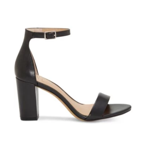 I.N.C. Kivah Two-Piece Sandals, Created for Macy's - Plus Size Heels | Size 14 Heels
