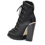 Madyn 130 leather ankle boots - Plus Size Heels | Size 13 Heels