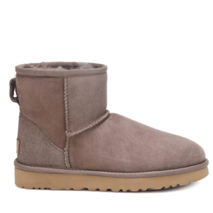 Mini Suede Winter Ugg Boots Side View
