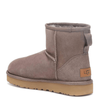 Load image into Gallery viewer, Mini Suede Winter Ugg Boots Back View