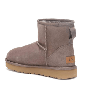 Mini Suede Winter Ugg Boots Back View