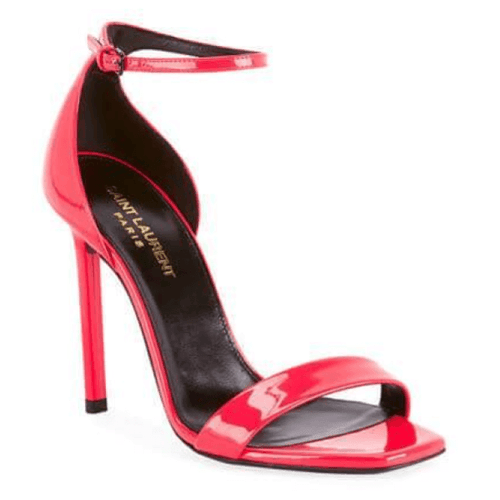 Neon Pink Leather Sandals Sizes 11, 12