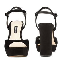 Load image into Gallery viewer, Gail Platform Sandals - Plus Size Heels | Size 13 Heels