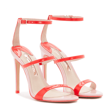 Load image into Gallery viewer, Rosalind Orange and Pink Sandals in Size 11