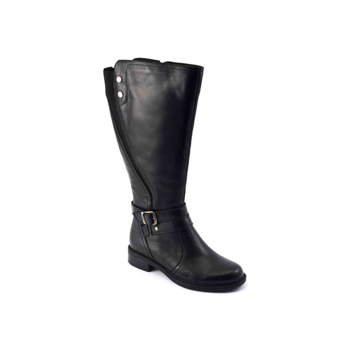 Safina Extra Wide Calf Riding Boot - Plus Size Heels | Size 16 Heels