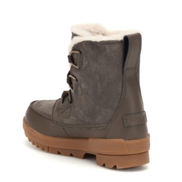 Suede Sorel Winter Boots Back View