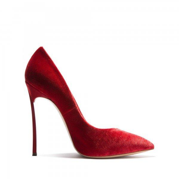 Burgundy Velvet Heels Pointy Toe Stiletto Heels Pumps for Women - Plus Size Heels | Size 11 Heels | Size 12 Heels