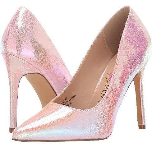 Penny Loves Kenny: Ormond Special Pink Pumps - Plus Size Heels | Size 10 Heels