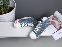 Load image into Gallery viewer, Canvas Wedge Sneakers