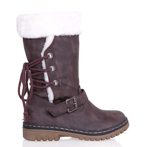 Rubber Sole Winter Boots