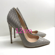 Load image into Gallery viewer, Lady Gray Pumps