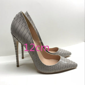Lady Gray Pumps