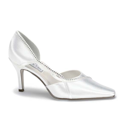 Kendra Wedding Shoes - Plus Size Heels | Size 16 Heels