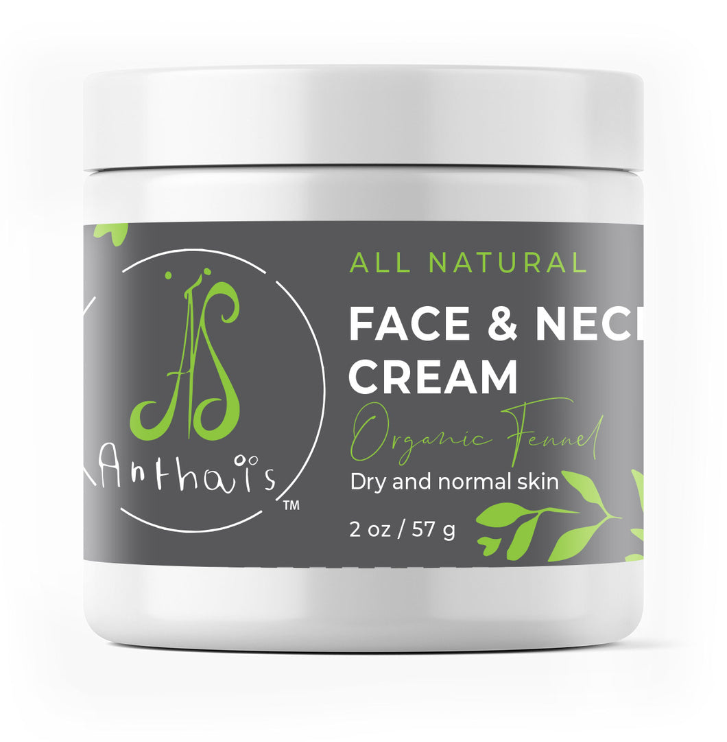 Natural Face and neck cream 'Organic fennel'