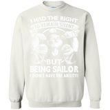 Being Sailor I Had The Right To Remain Silent  Hoodies Sweatshirts