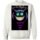 Alice In Wonderland Were Ah Mad Here  Hoodies Sweatshirts
