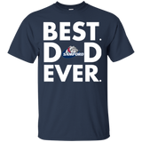 Best Dad Ever Father s Day Samford Bulldogs  Hoodies Sweatshirts
