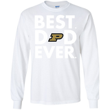 Best Dad Ever Father s Day Purdue Boilermakers  Hoodies Sweatshirts