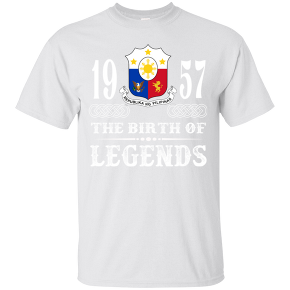 1957 Philippines Shirts The Birth Of Legends  Hoodies Sweatshirts