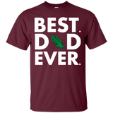 Best Dad Ever Father s Day North Texas Mean Green  Hoodies Sweatshirts