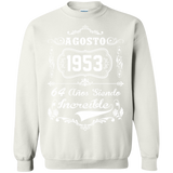 Birthday Agosto 1953 64 Anos Siendo Increible  Hoodies Sweatshirts