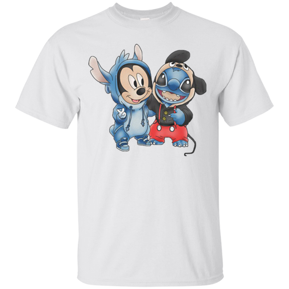 Stitch Mickey And Stitch  Hoodies Sweatshirts