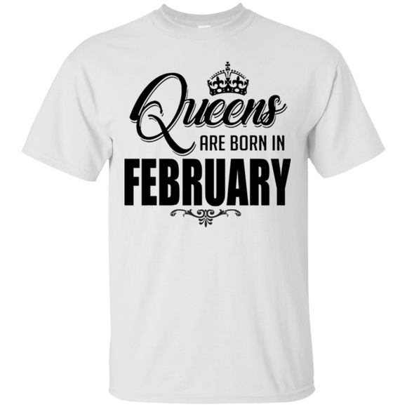 c3a570167 Birthday Queen Are Born In February Hoodies Sweatshirts