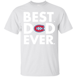 Best Dad Ever Father s Day Montréal Canadiens  Hoodies Sweatshirts