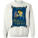 Beauty And The Beast Shirts The Simpsons Beer And The Beast  Hoodies Sweatshirts