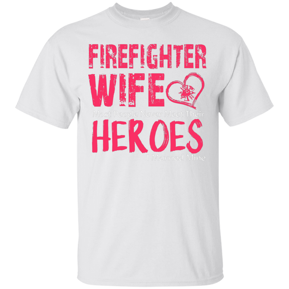 Firefighter Wife Tee Firefighter T shirts  Hoodies, Sweatshirts