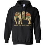 Animal Lover save the elephants  Hoodies Sweatshirts