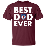 Best Dad Ever Father s Day Penn Quakers  Hoodies Sweatshirts