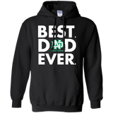 Best Dad Ever Father s Day North Dakota Fighting Hawks  Hoodies Sweatshirts