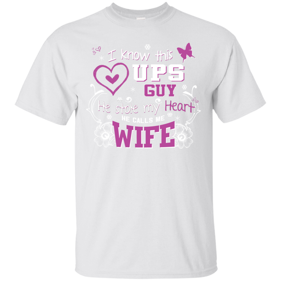 I Know This UPS Guy He Calls Me Wife UPS Wife T shirts  Hoodies, Sweatshirts