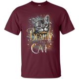 Beauty And The Beast Shirts Beauty And The Cat  Hoodies Sweatshirts