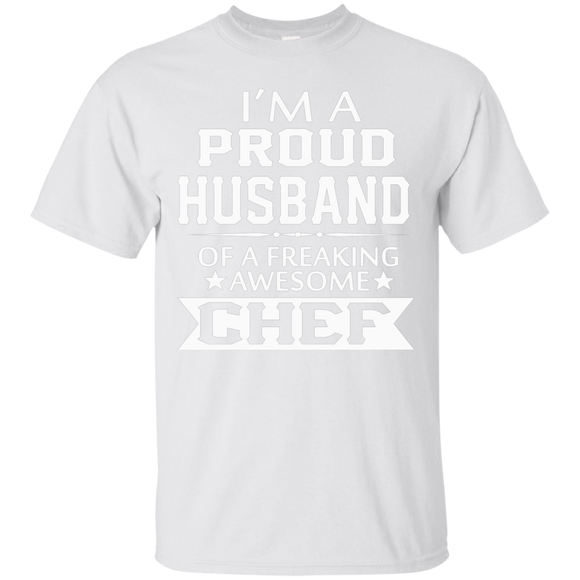 I'M A PROUD CHEF's HUSBAND Chef T shirts  Hoodies, Sweatshirts
